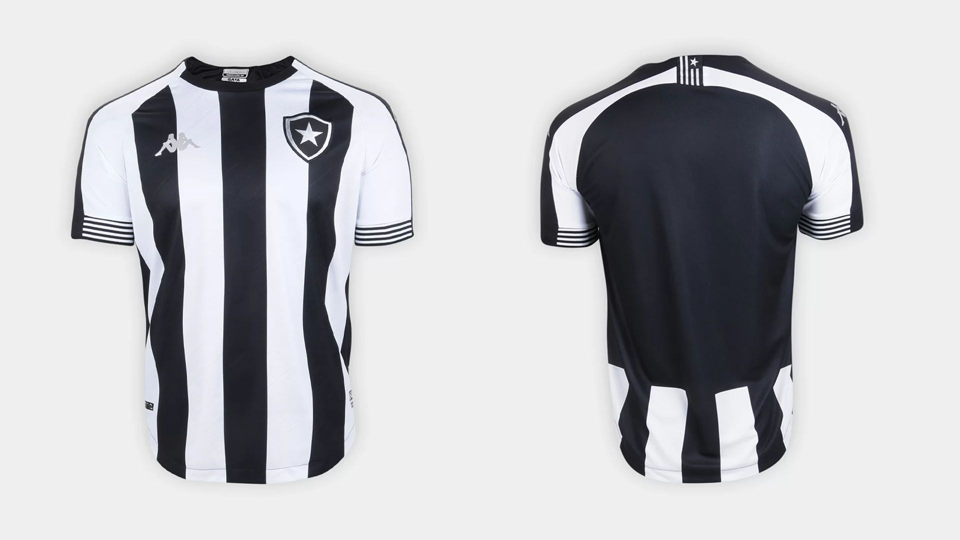 Camisa do Botafogo 2020 Kappa Jogo 1 (Imagem: Divulgação/Kappa)