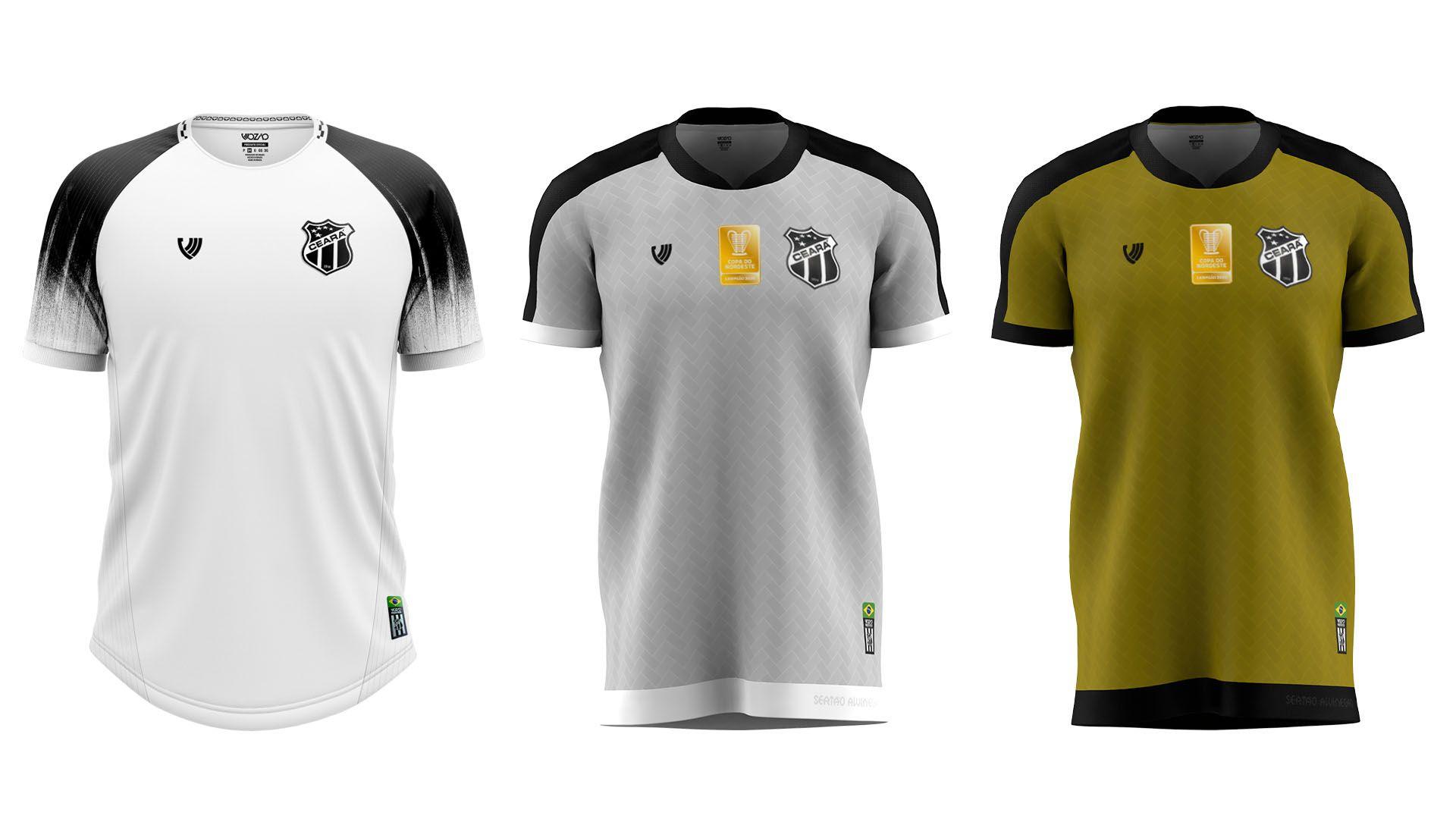 Camisa do Ceará 2021 Vozão Jogo 2 (Imagem: Divulgação/Vozão)