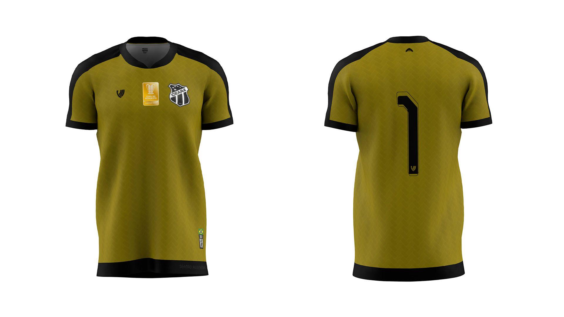 Camisa do Ceará 2021 Vozão Sertão Alvinegro (Imagem: Divulgação/Vozão)