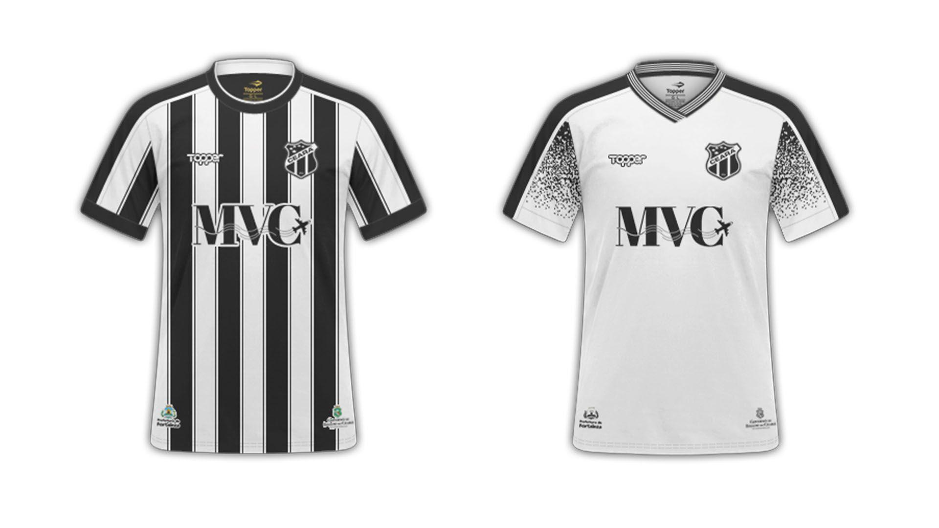 Camisa do Ceará 2019 Topper Jogo 1 e 2 (Imagem: Divulgação/Topper)
