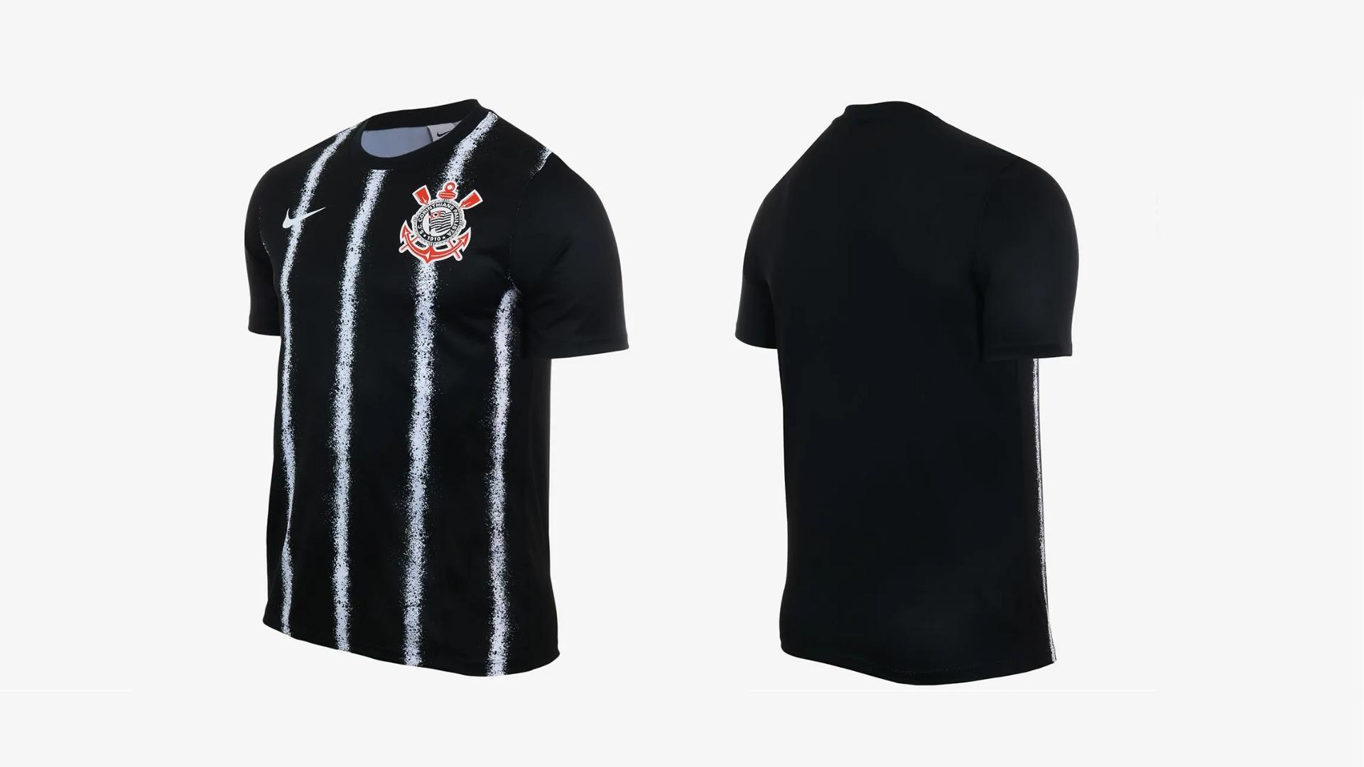 Camisa do Corinthians 2021 Nike Jogo 2 (Imagem: Divulgação/Nike)