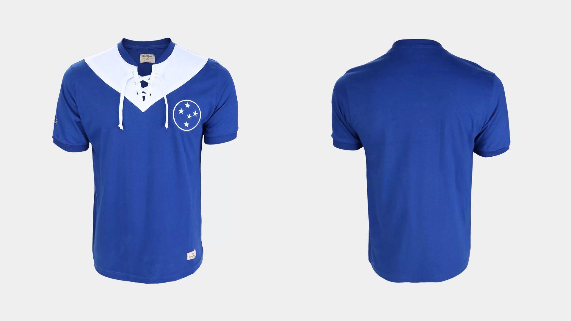 Camisa do Cruzeiro Retrô 1943 (Divulgação/RetrôMania)