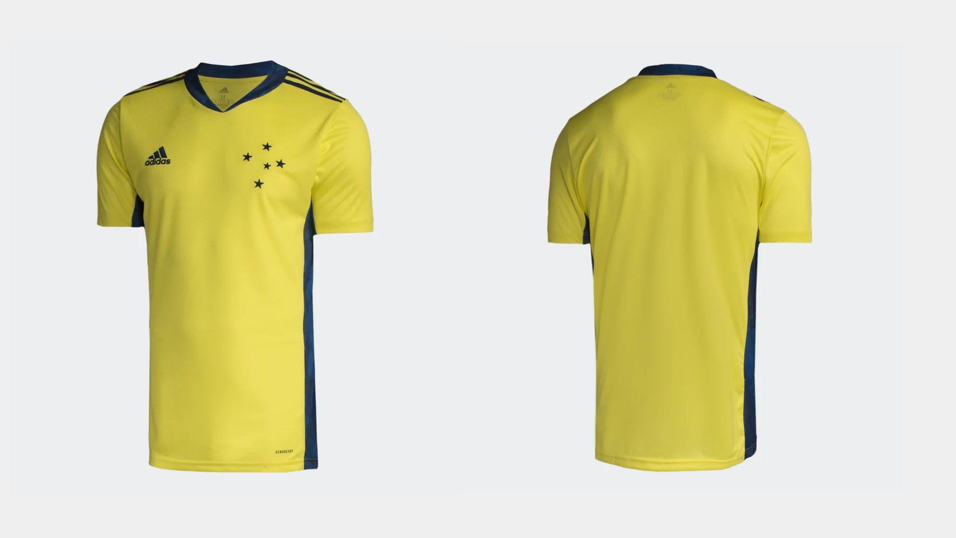 Camisa do Cruzeiro 2020 Adidas Goleiro 1 (Imagem: Divulgação/Adidas)