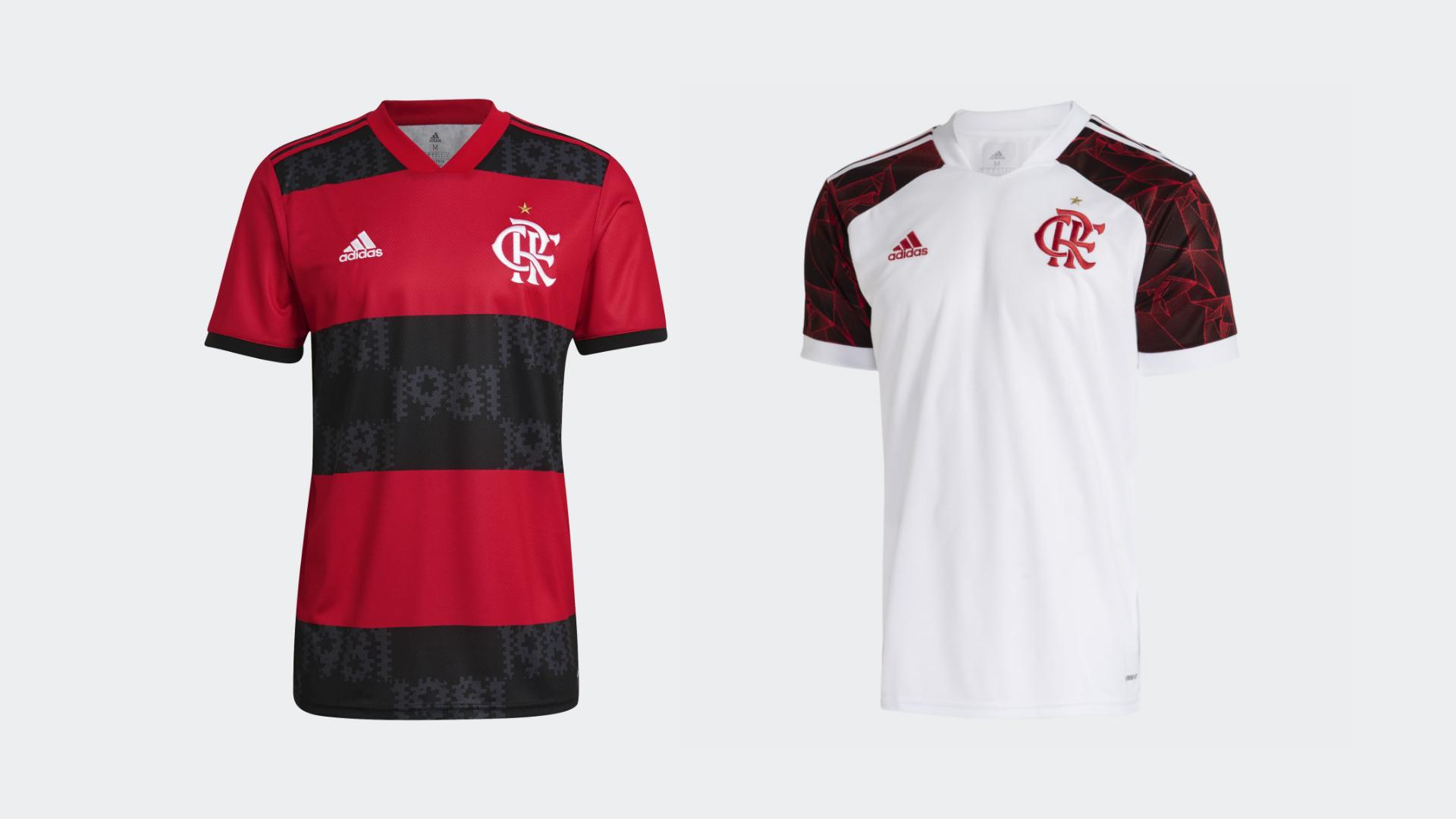 Camisa do Flamengo 2021 (Imagem: Divulgação/Adidas)