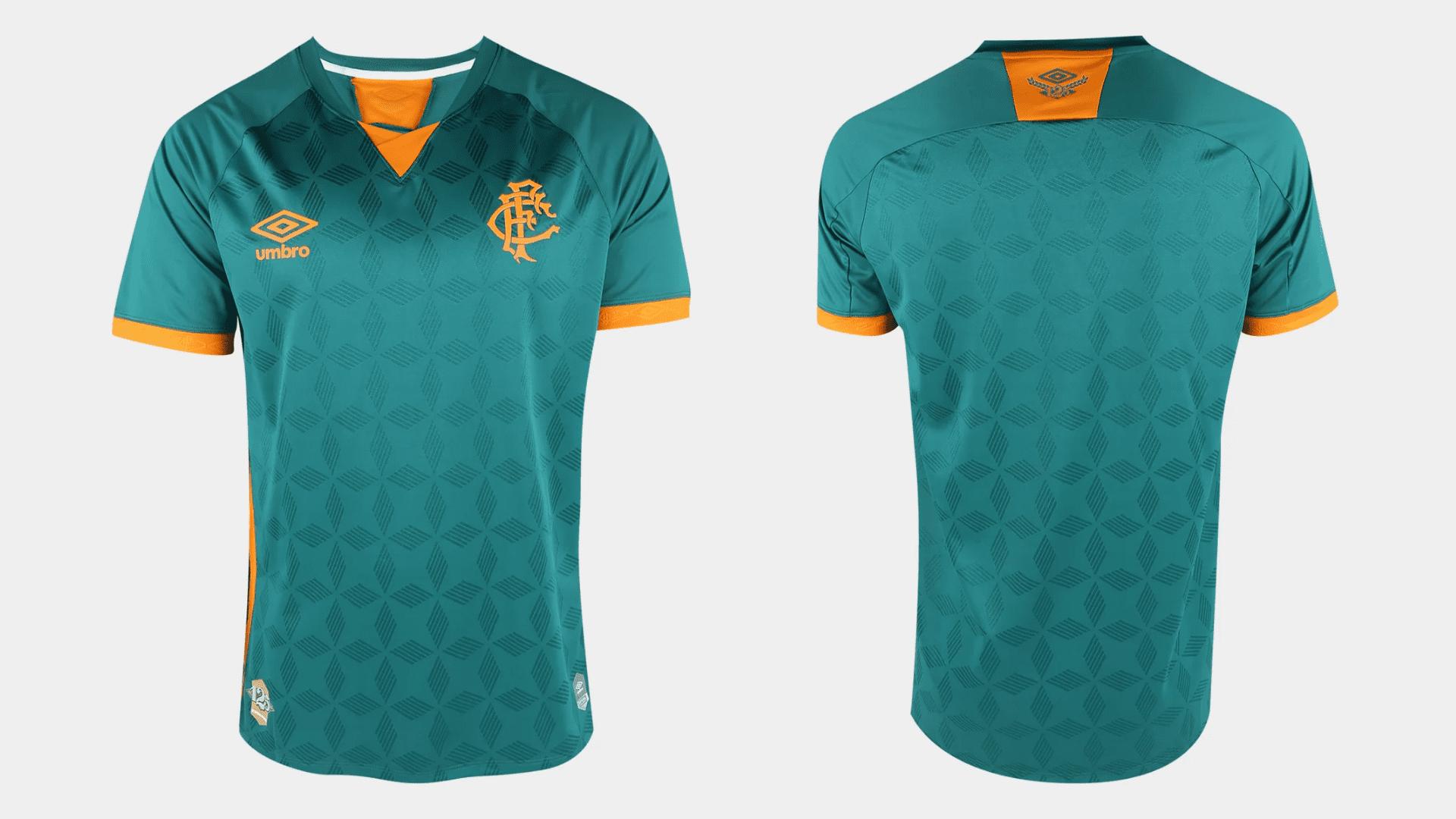 Camisa do Fluminense 2020 Umbro Jogo 3 (Imagem: Divulgação/Umbro)