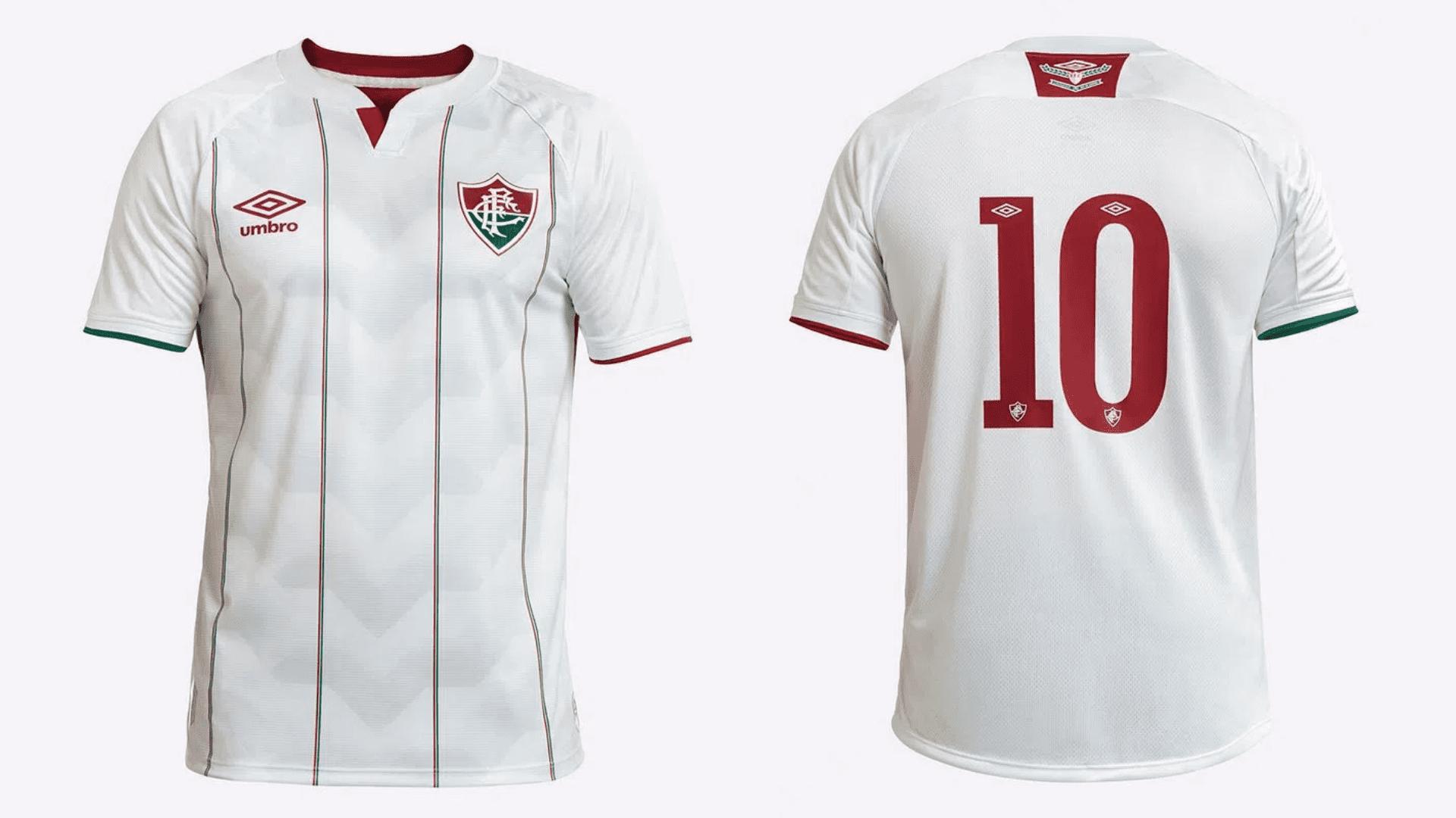 Camisa do Fluminense 2020 Umbro Jogo 2 (Imagem: Divulgação/Umbro)