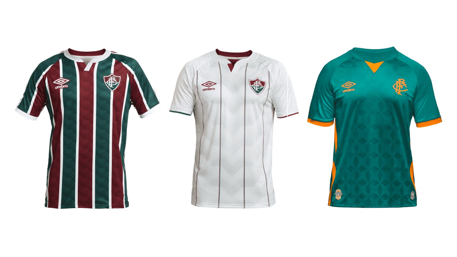 Camisa do Fluminense 2020 Umbro Jogo 1, 2 e 3 (Imagem: Divulgação/Umbro)