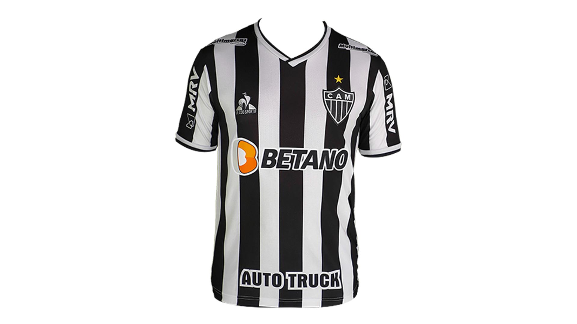 Camisa do Galo 2021 Le Coq Sportif Jogo 1 (Imagem: Divulgação/Le Coq Sportif)