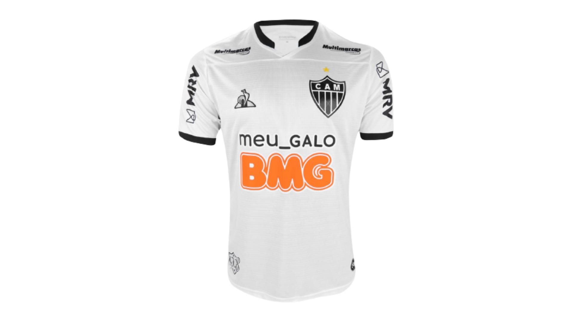 Camisa do Galo 2020 Le Coq Sportif Jogo 2 (Imagem: Divulgação/Le Coq Sportif)