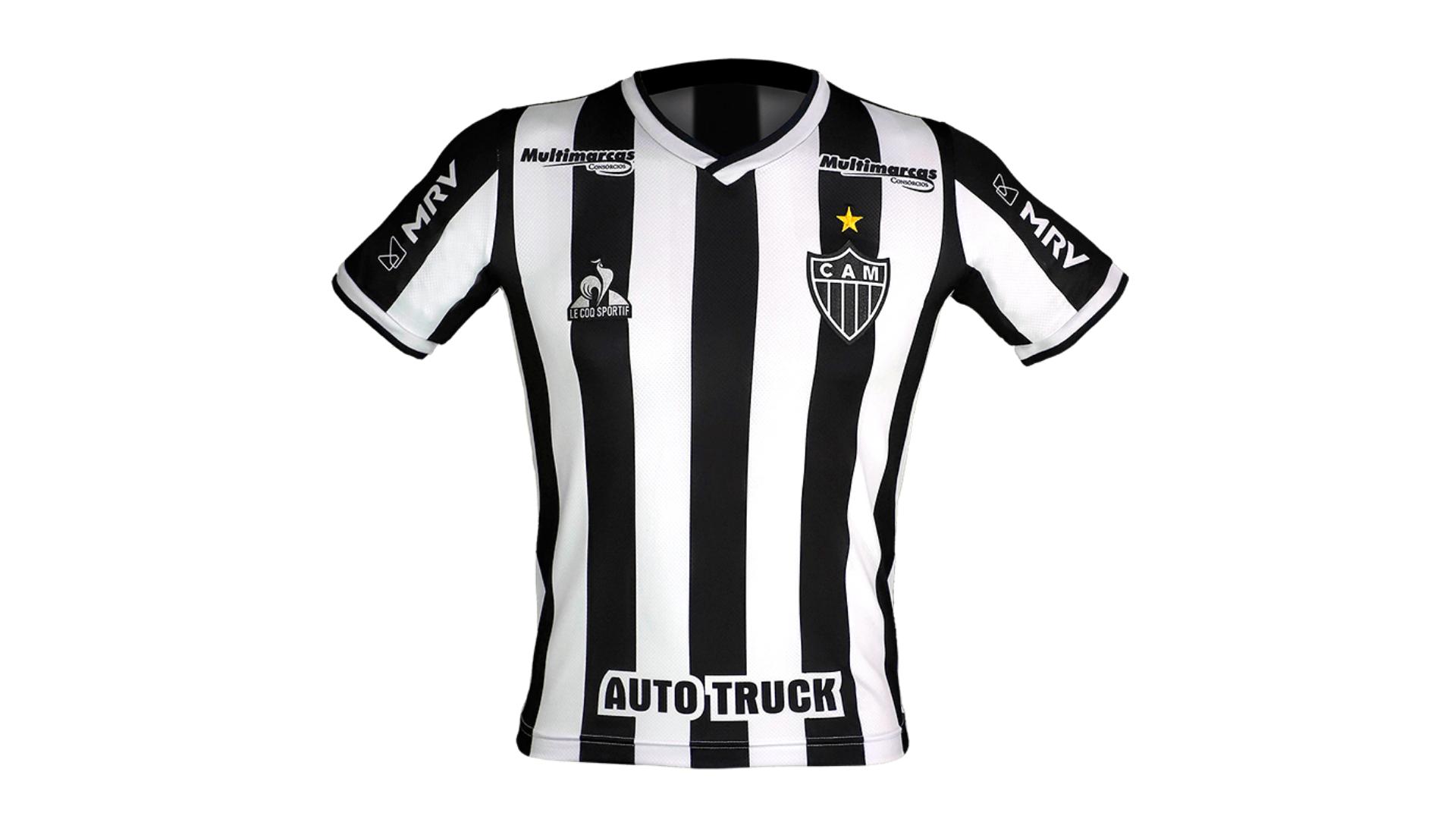 Camisa do Galo Infantil 2021 Le Coq Sportif Jogo 1 (Imagem: Divulgação/Le Coq Sportif)