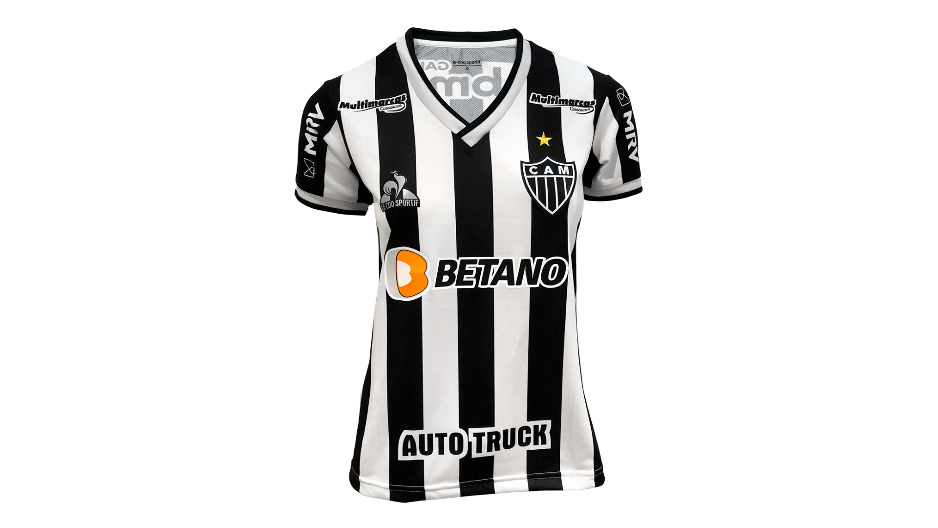 Camisa do Galo Feminina 2021 Le Coq Sportif Jogo 1 (Imagem: Divulgação/Le Coq Sportif)