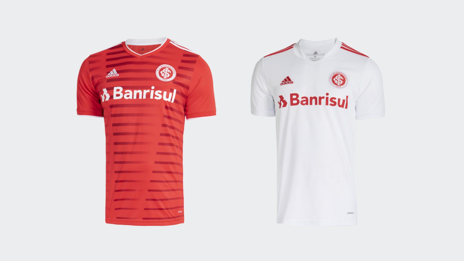 Camisa do Internacional 2021 Adidas Jogo 1 e 2 (Imagem: Divulgação/Adidas)