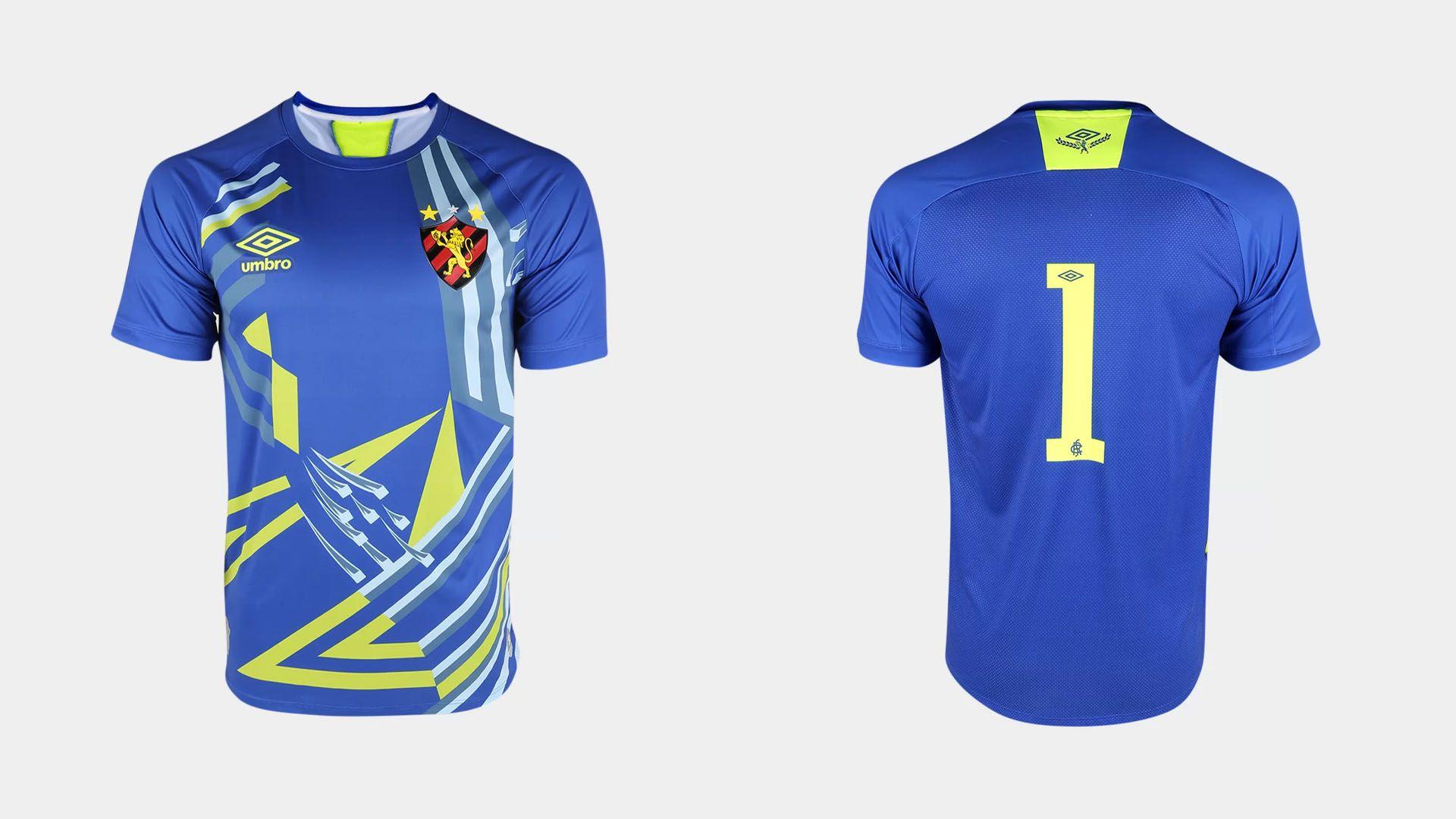Camisa do Sport 2020 Umbro Goleiro (Imagem: Divulgação/Umbro)