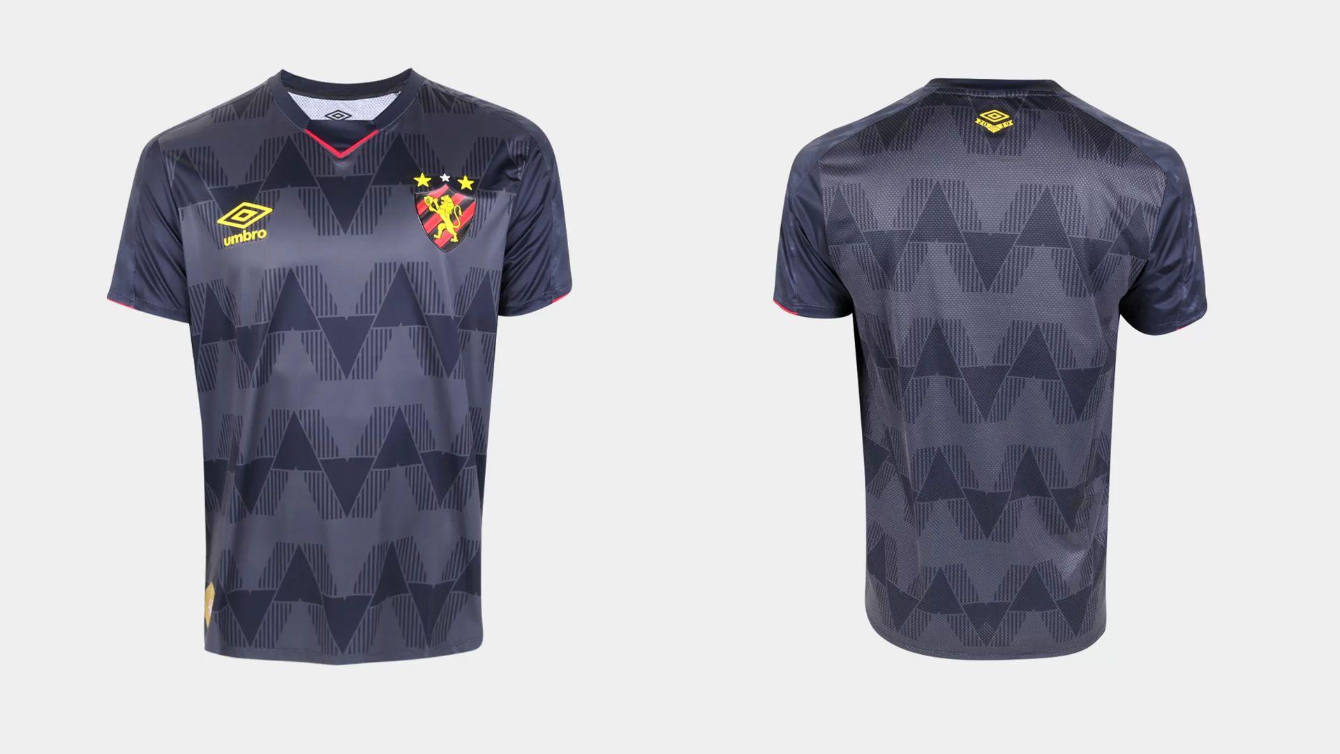 Camisa do Sport 2019 Umbro Jogo 3 (Imagem: Divulgação/Umbro)