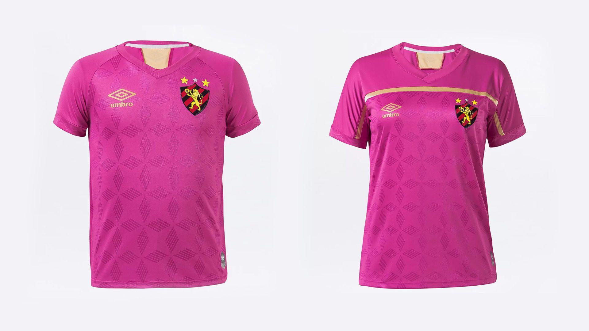 Camisa do Sport 2020 Umbro Outubro Rosa (Imagem: Divulgação/Umbro)