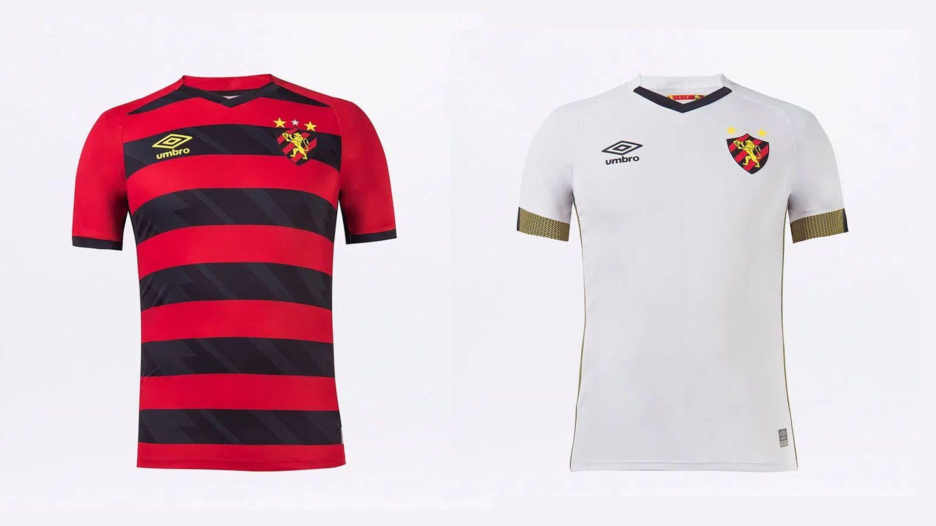 Camisa do Sport 2021 Umbro Jogo 1 e 2 (Imagem: Divulgação/Umbro)