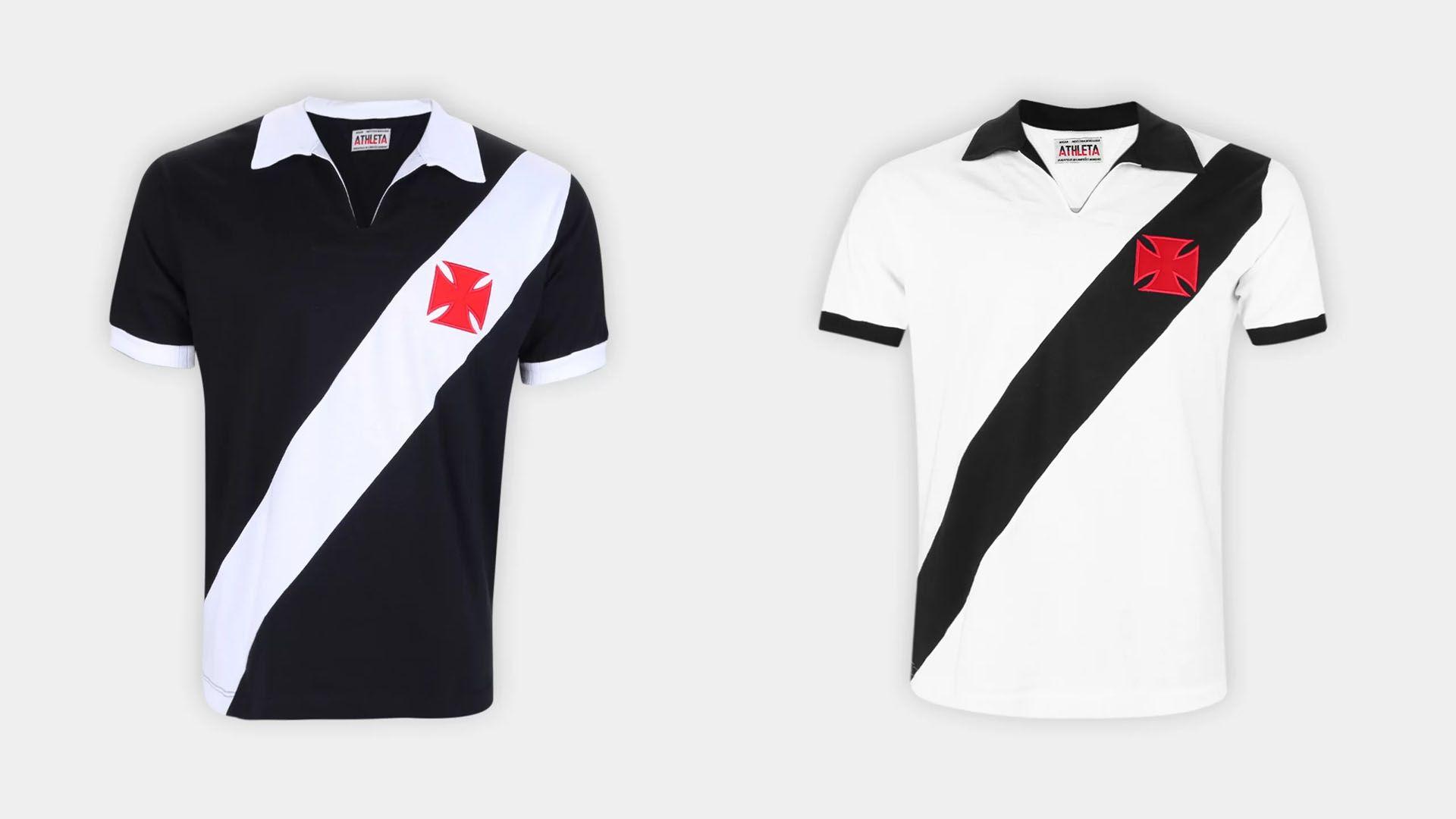 Camisa do Vasco Retrô 1960 (Imagem: Divulgação/Athleta)