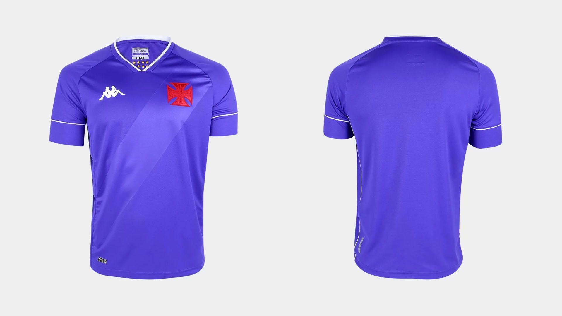 Camisa do Vasco 2020 Kappa Goleiro 2 (Imagem: Divulgação/Kappa)