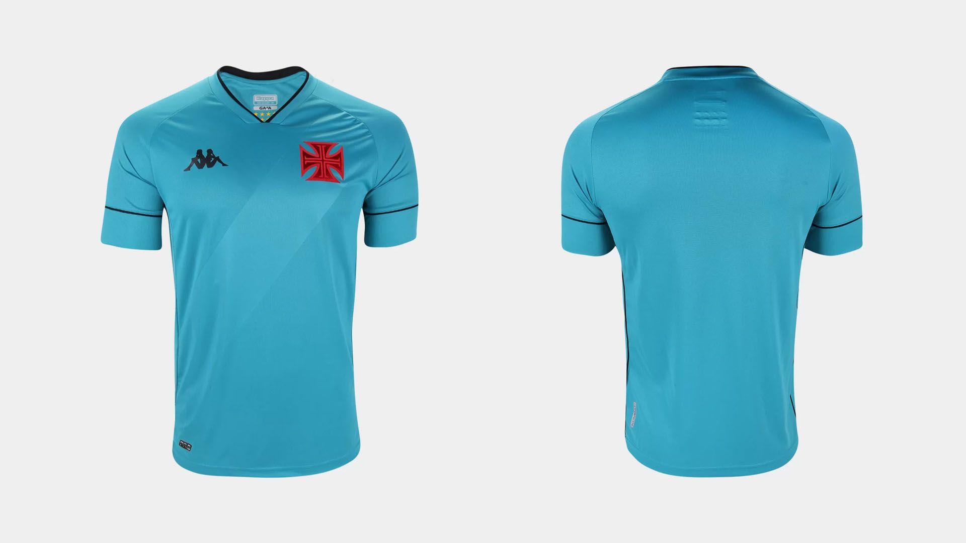 Camisa do Vasco 2020 Kappa Goleiro 1 (Imagem: Divulgação/Kappa)