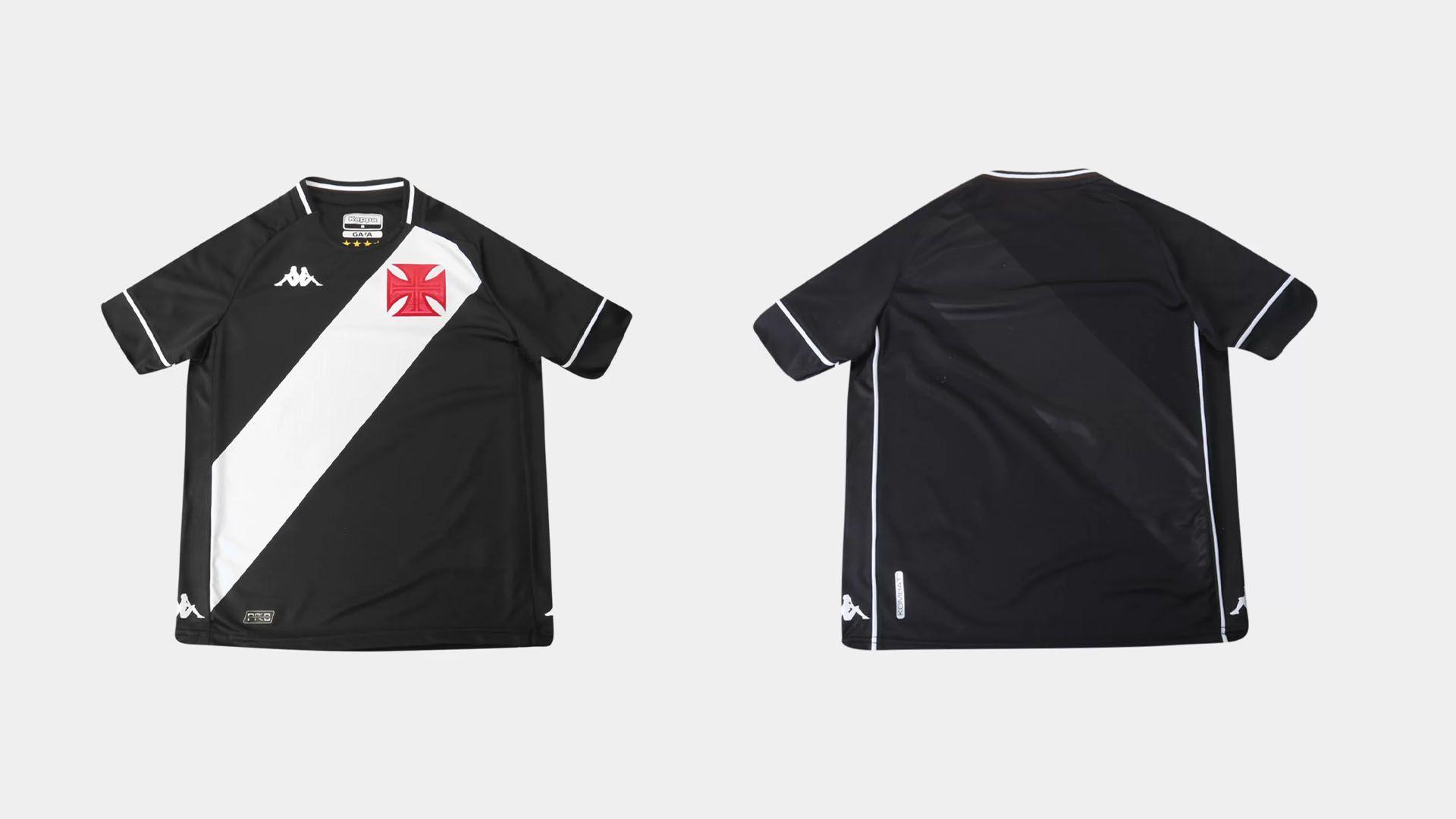 Camisa do Vasco Infantil 2020 Kappa Jogo 1 (Imagem: Divulgação/Kappa)