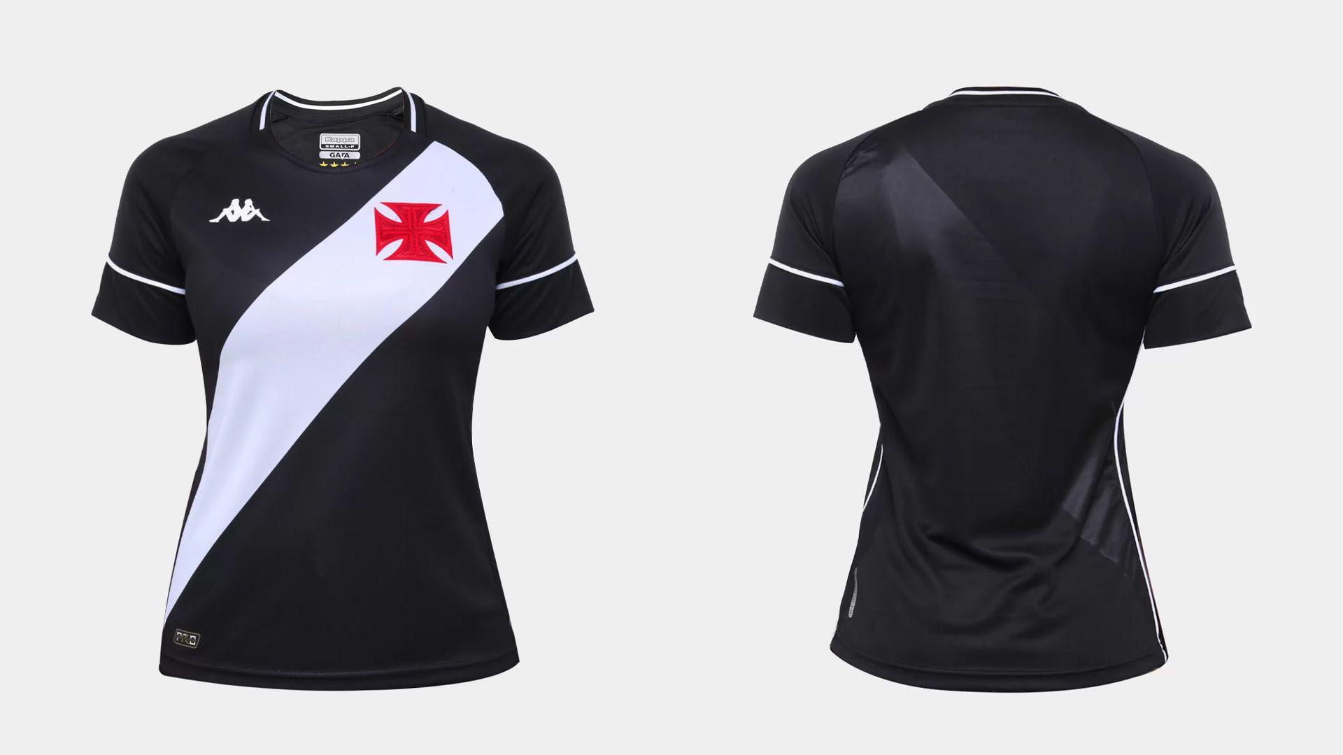 Camisa do Vasco Feminina 2020 Kappa Jogo 1 (Imagem: Divulgação/Kappa)
