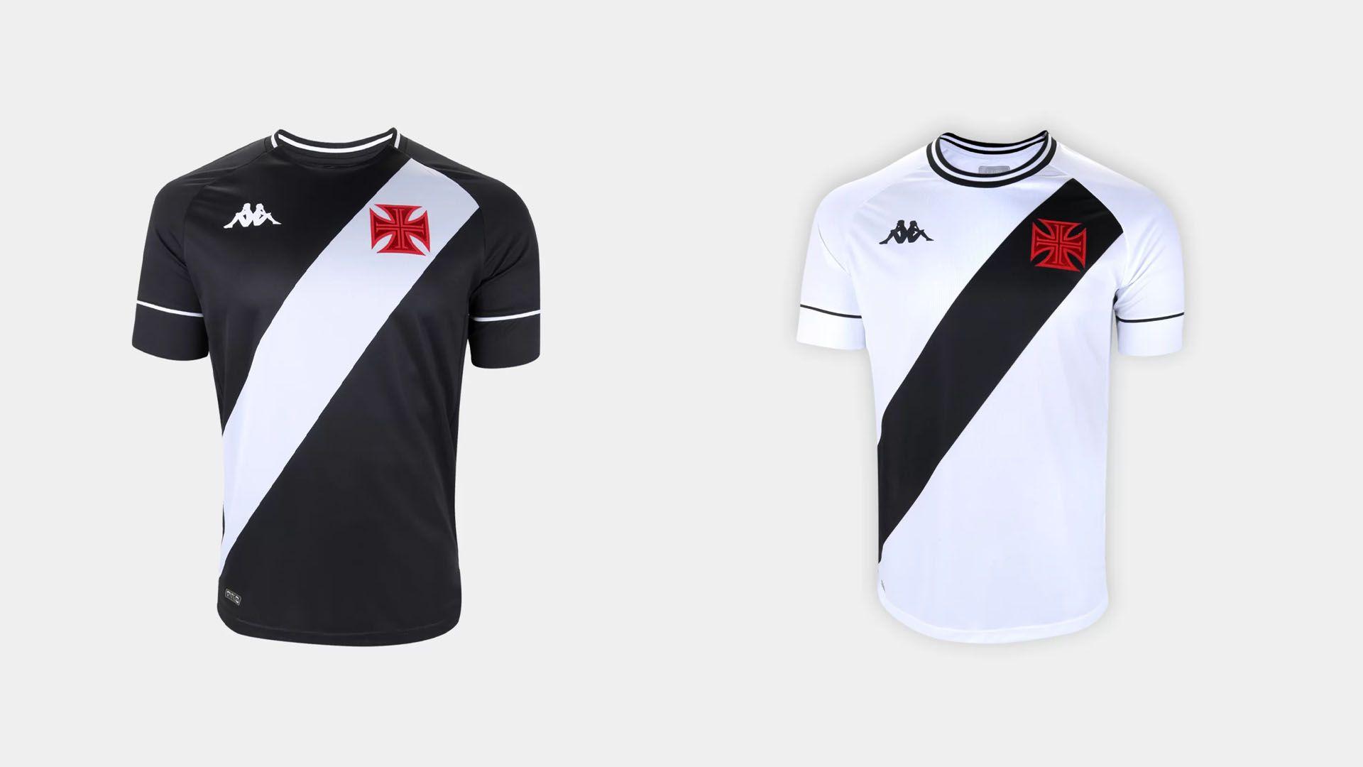 Camisa do Vasco 2020 Kappa Jogo 1 e 2 (Imagem: Divulgação/Kappa)