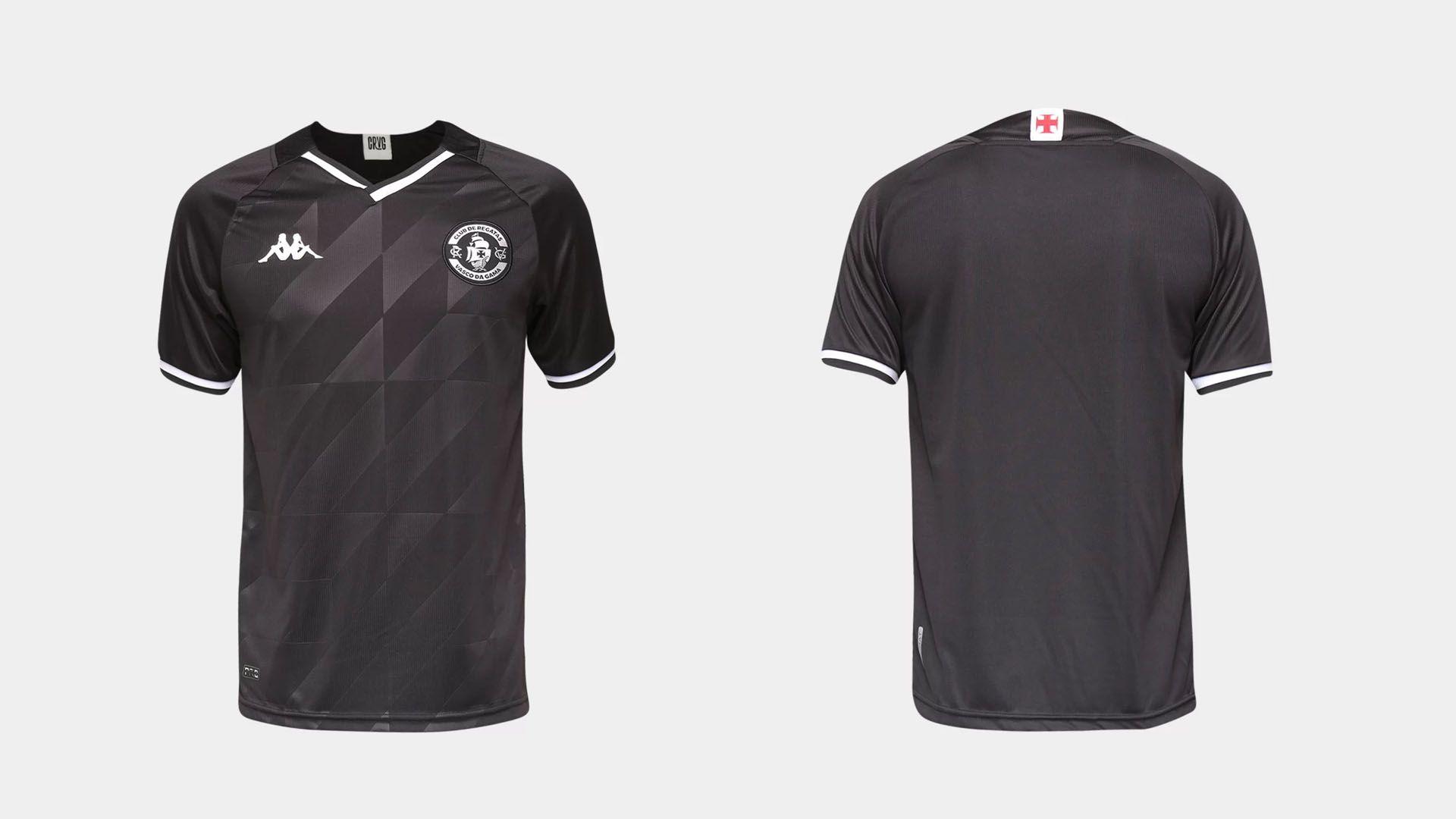 Camisa do Vasco 2021 Kappa Jogo 3 (Imagem: Divulgação/Kappa)