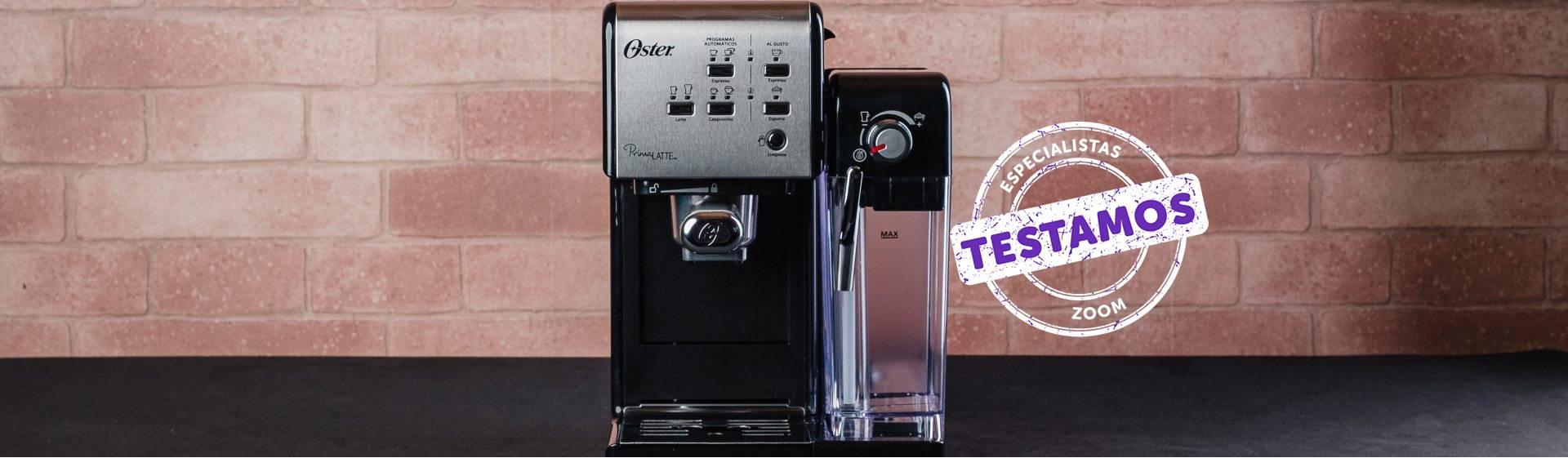Cafeteira Oster Prima Latte II: multifuncional, mas muito barulhenta