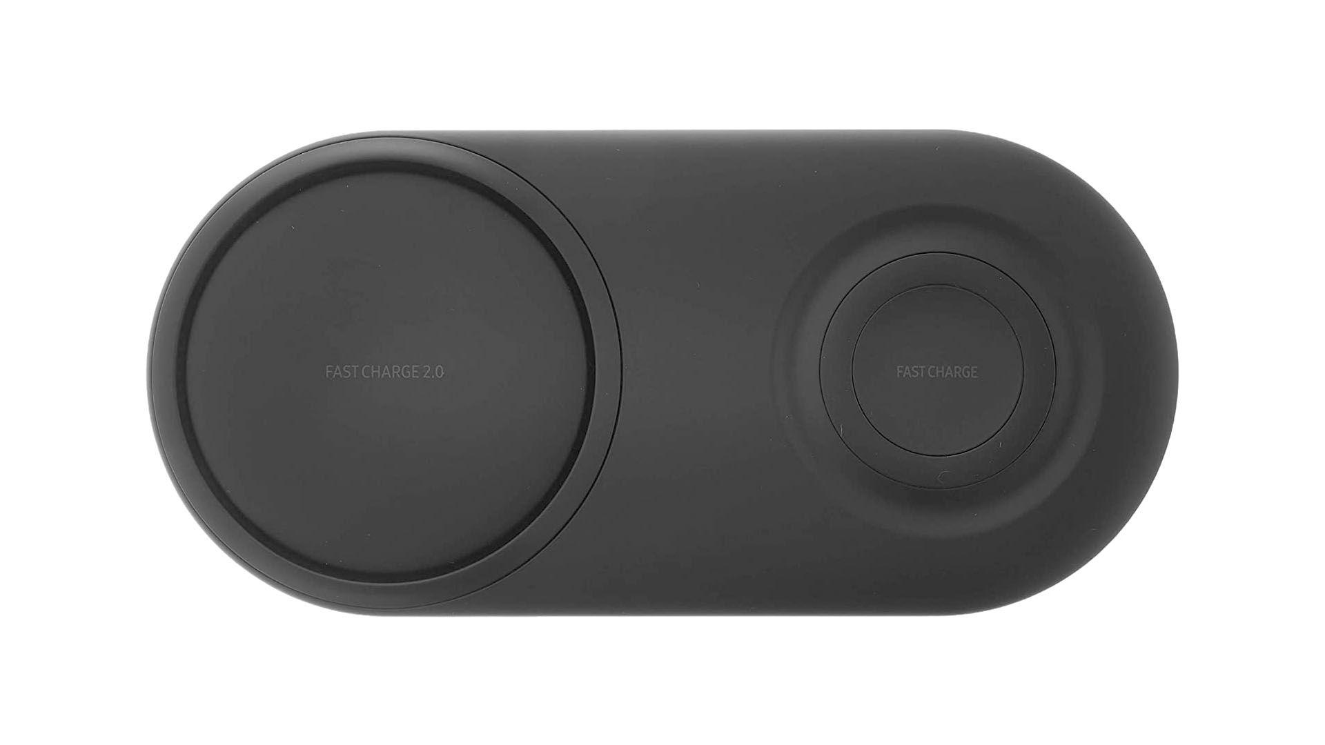 O carregador por indução Samsung tem dois pads de indução. (Foto: Divulgação/Samsung)
