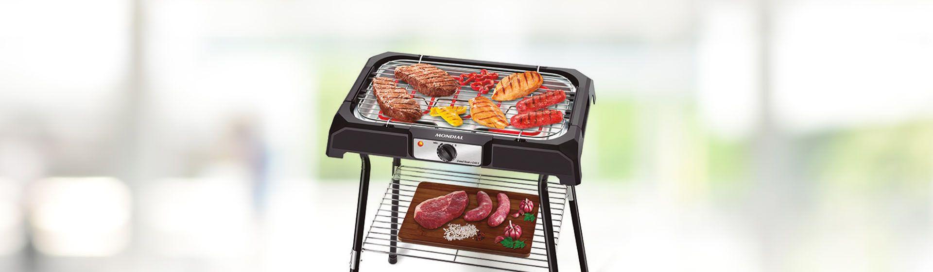 Churrasqueira elétrica Mondial Grand Steak & Grill CH-06 é boa?