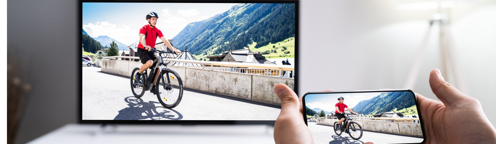 Como espelhar celular na TV