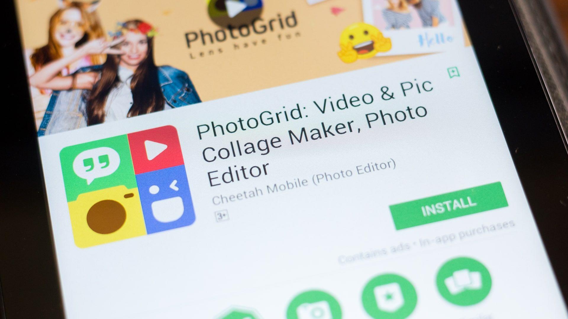 Como fazer vídeo com fotos: PhotoGrid permite fazer colagens e edições (Foto: Sharaf Maksumov / Shutterstock.com)