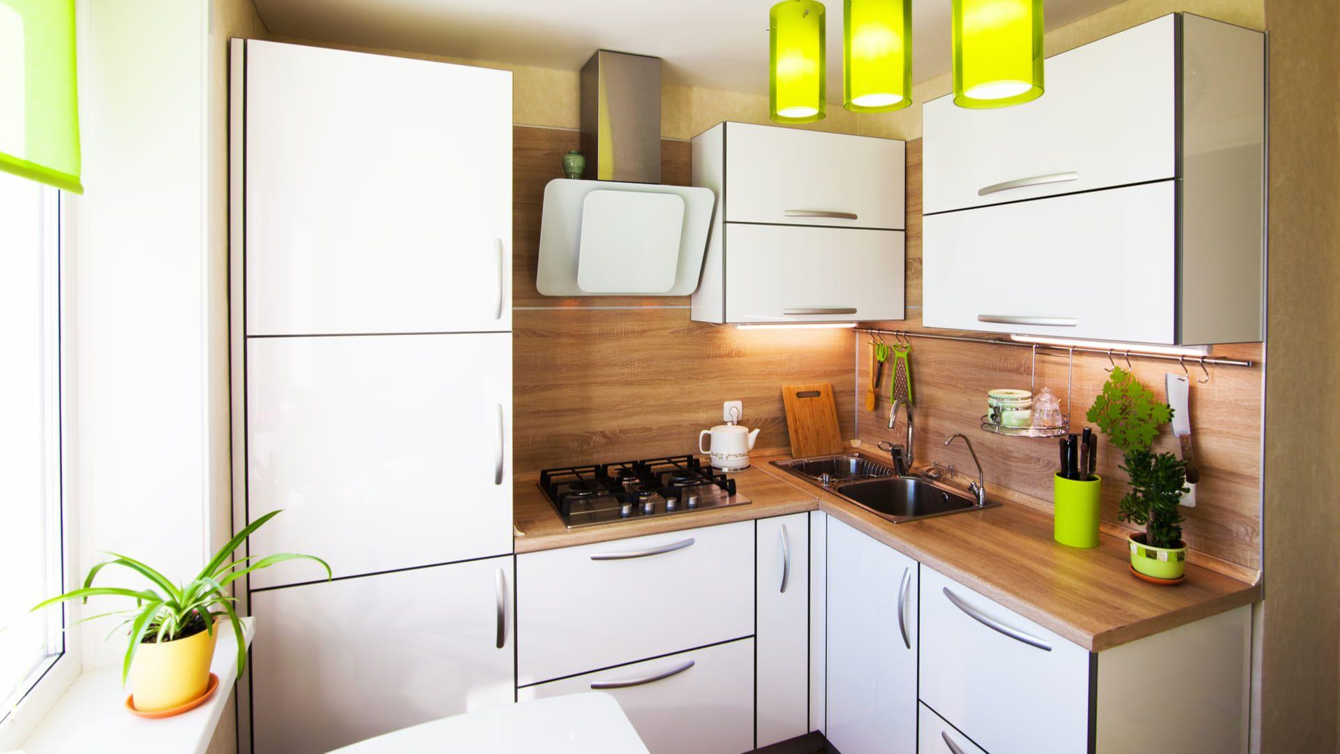 Veja ideias para montar a sua cozinha planejada pequena (Foto: Shutterstock)