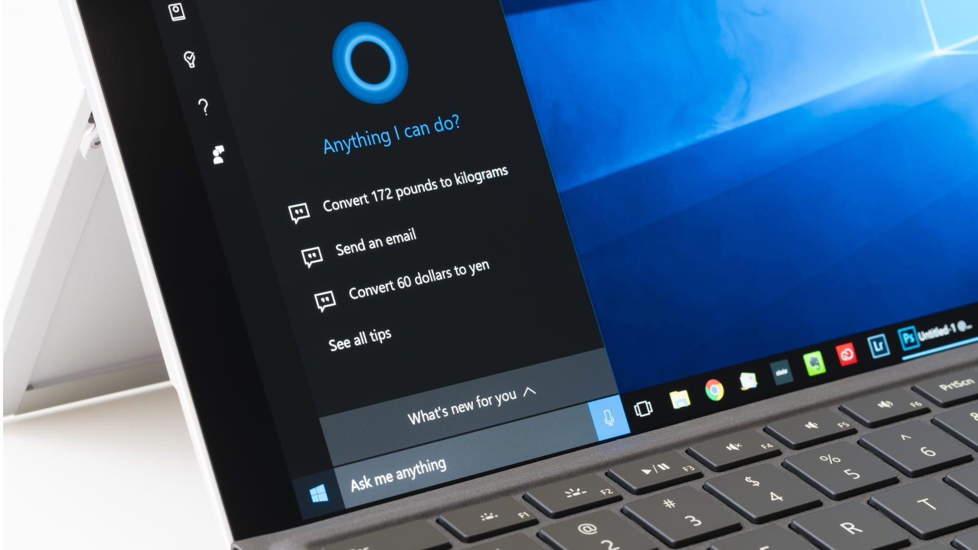 A assistente virtual Cortana é uma grande vantagem do Windows 8.1 e Windows 10 sobre o Windows 8 original (Reprodução: Green Man Gaming)