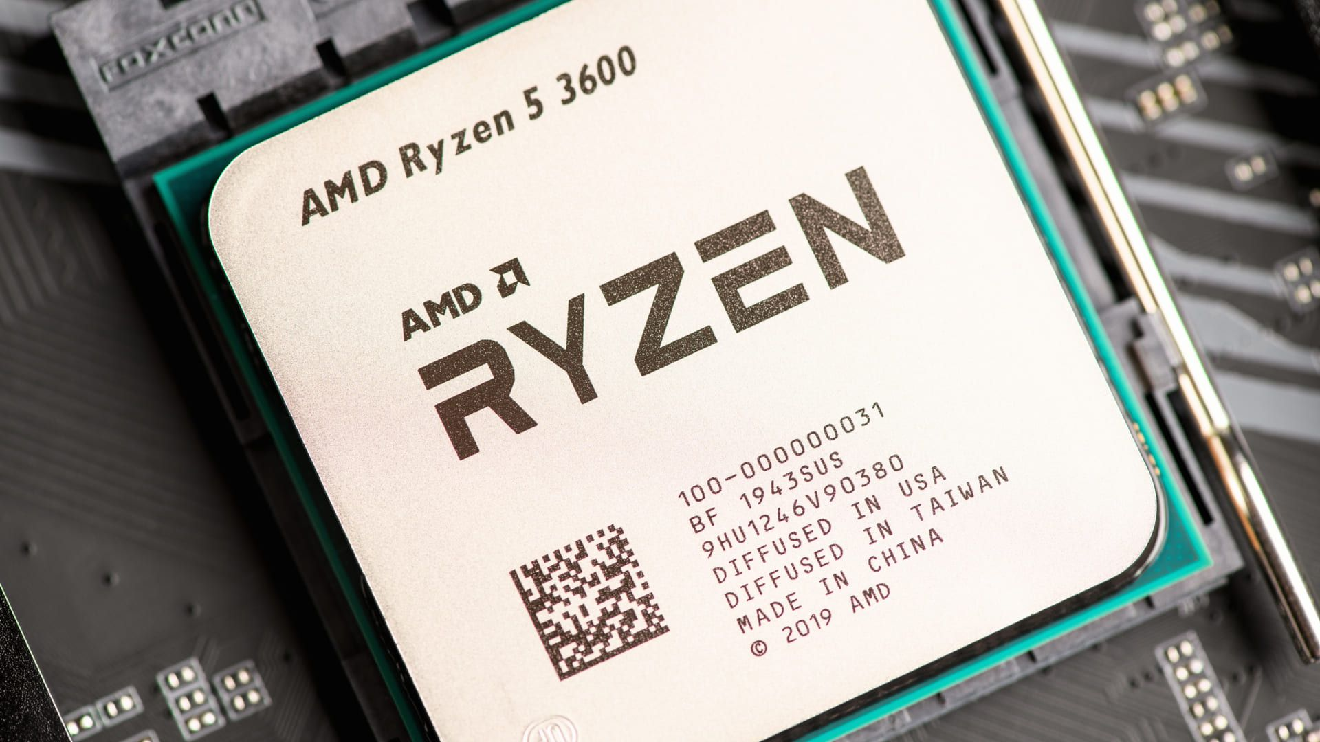 O Ryzen 5 3600 é um processador intermediário da AMD
