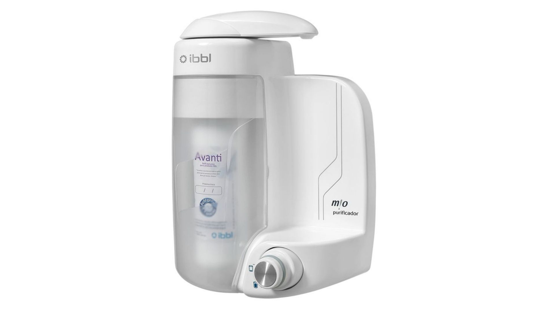 Conheça mais sobre as funções do purificador de água IBBL Mio (Imagem: Divulgação/IBBL)