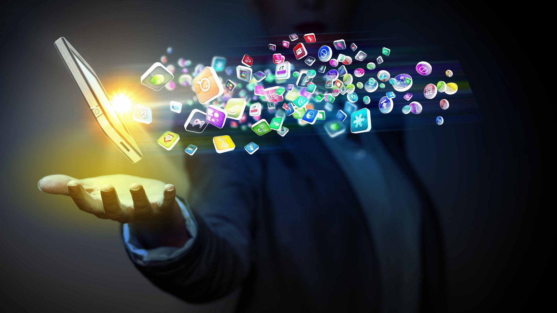 O que é app? Apps são os aplicativos para celular. (Foto: Shutterstock.)