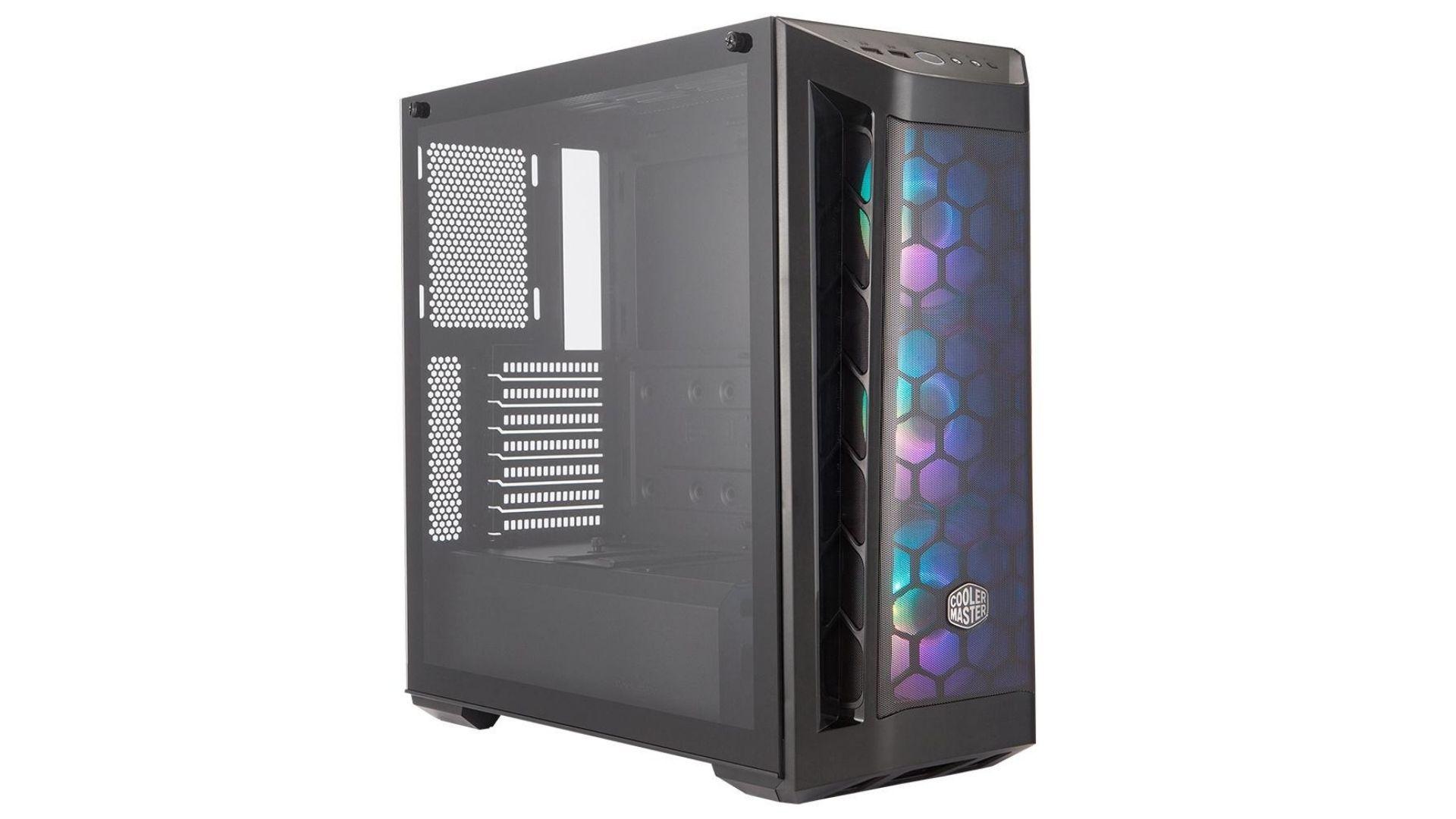 O Gabinete gamer Cooler Master Masterbox MB511 conta com fitro antipoeira (Foto: Divulgação)