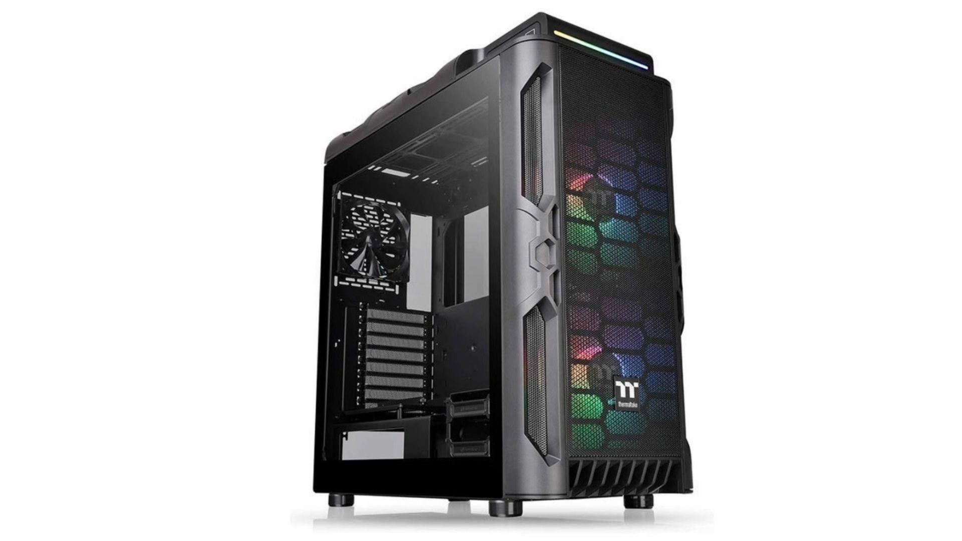 O Gabinete gamer Thermaltake Level 20 conta com RGB interno (Foto: Divulgação)