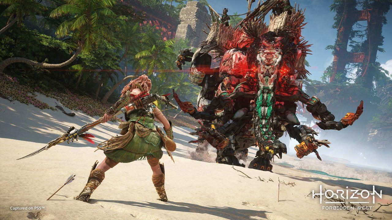 """""""Horizon Zero Dawn 2"""" traz novos inimigos e mais recursos na sua jogabilidade (Divulgação / Sony)"""