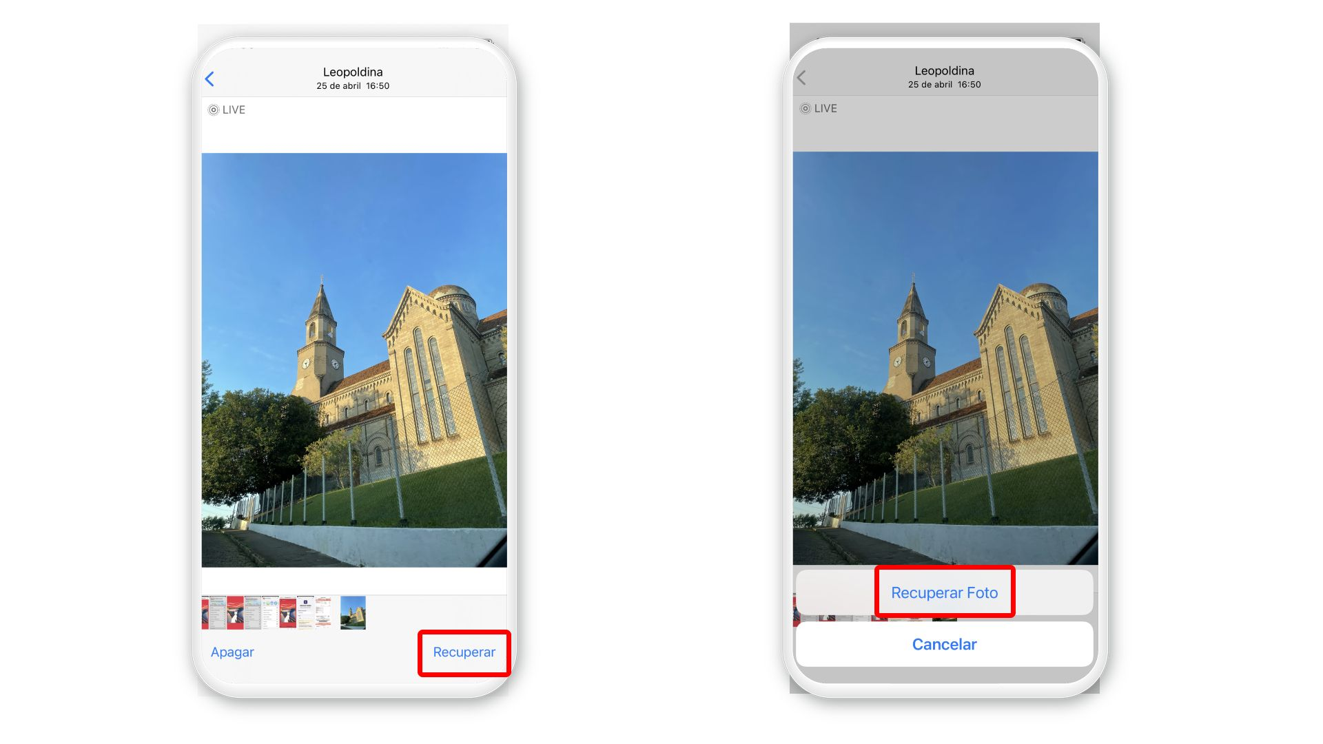 Como apagar fotos do iCloud: é possível recuperar imagens deletadas (Foto: Arte/Zoom)