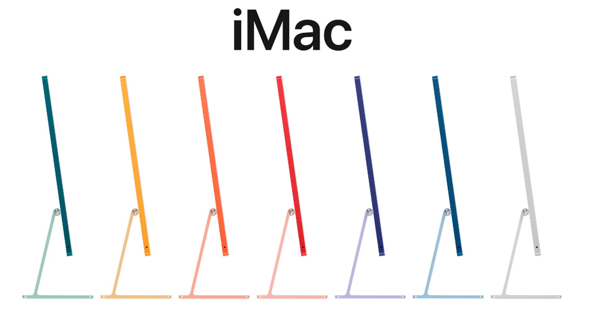 O iMac é o modelo desktop da Apple (Foto: Reprodução/Apple)