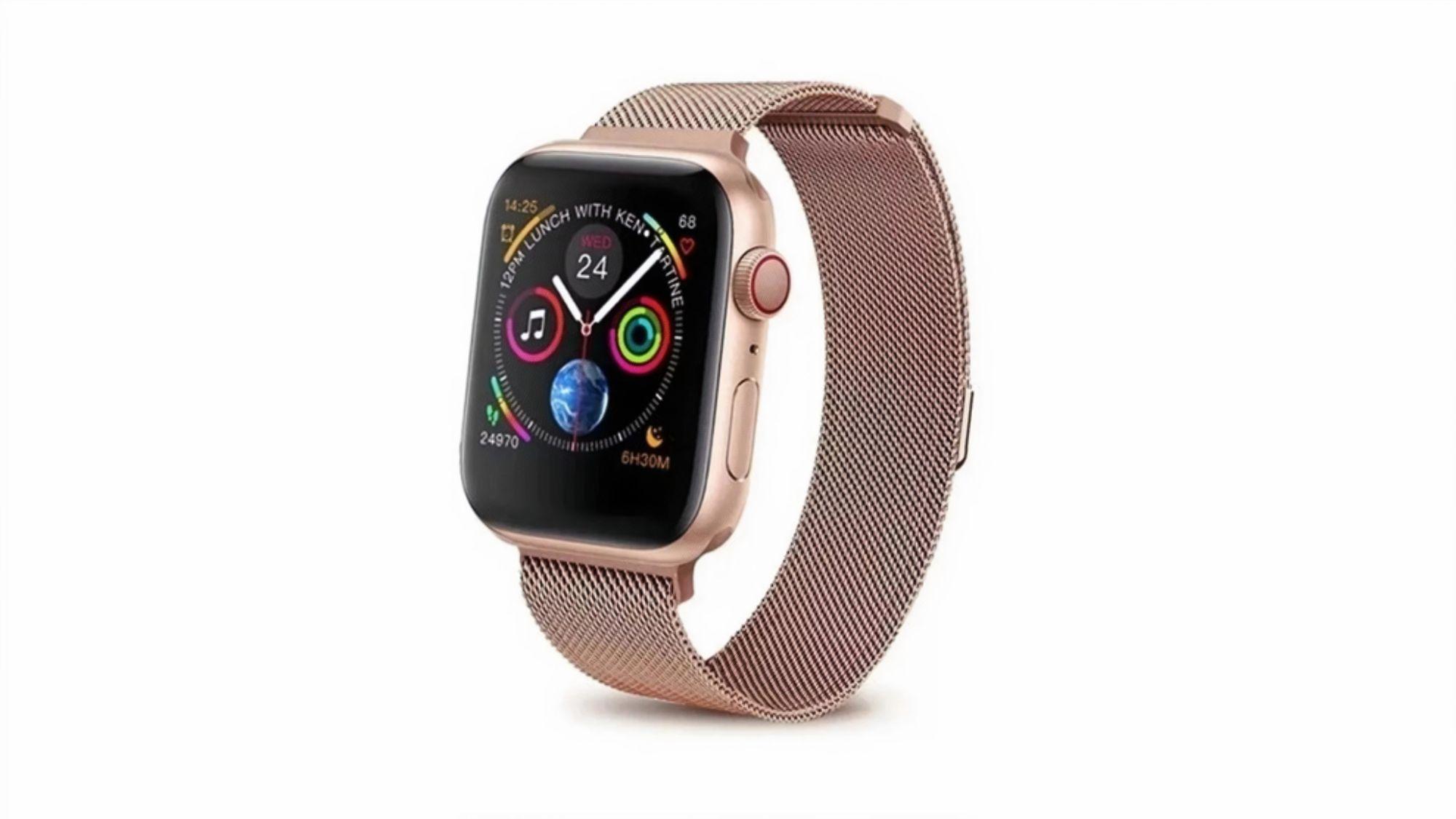 Relógio Iwo 8 permite a troca de pulseiras (Foto: Divulgação/Iwo)