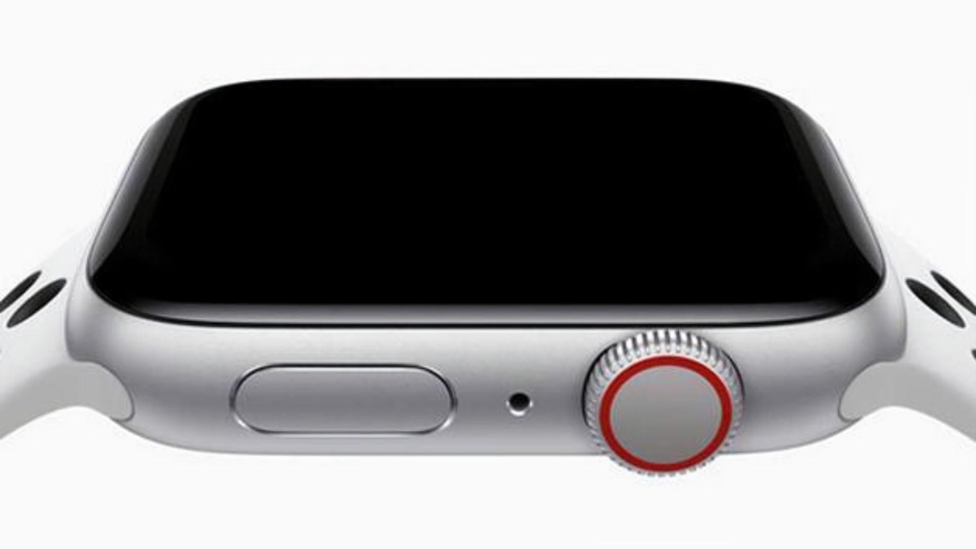 Smartwatch Iwo 8 tem coroa giratória lateral (Foto: Divulgação/Iow)