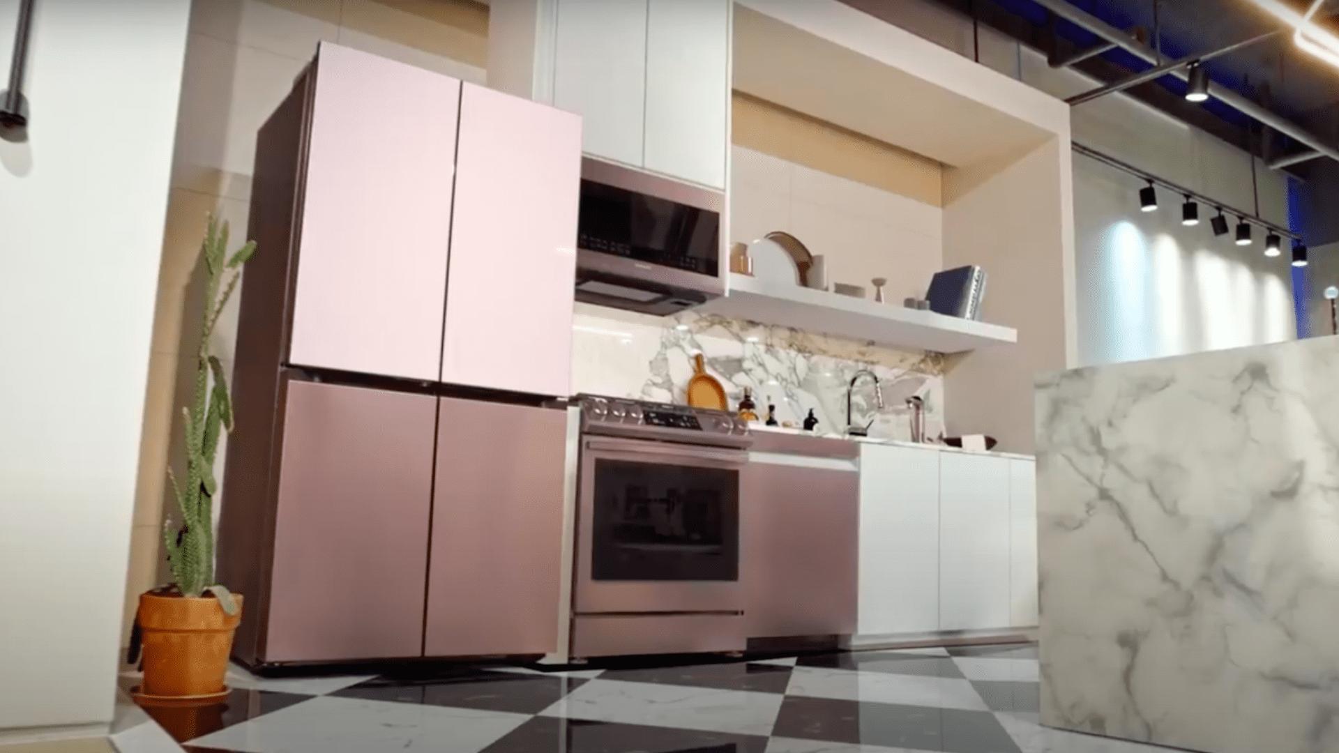 Confira o lançamento da Samsung com a linha Bespoke Home (Imagem: Divulgação/Samsung Evento Bespoke)