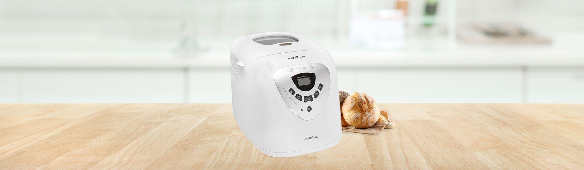 Máquina de fazer pão Britânia Multipane é boa?