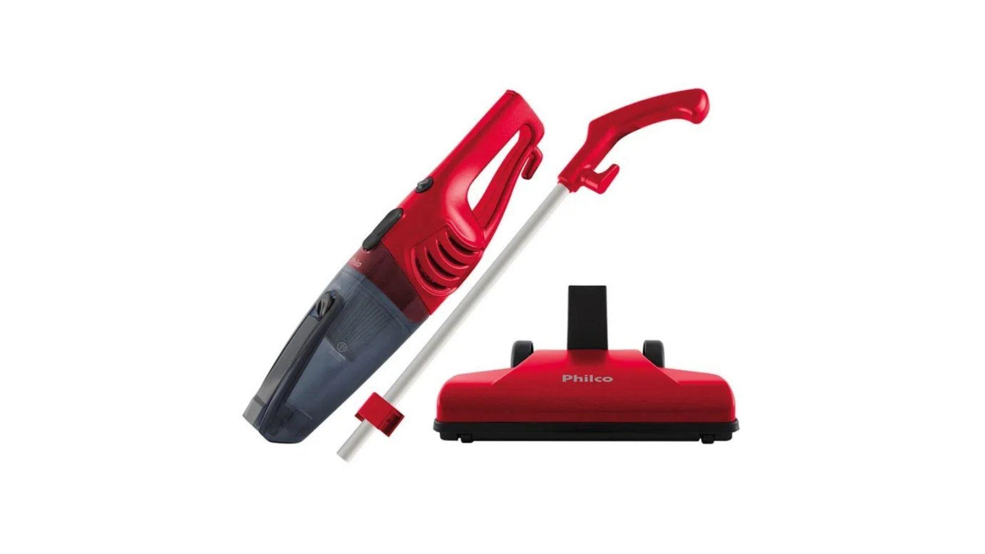 O Aspirador de Pó Philco PH1100 é ideal para limpezas leves (Foto: Divulgação)