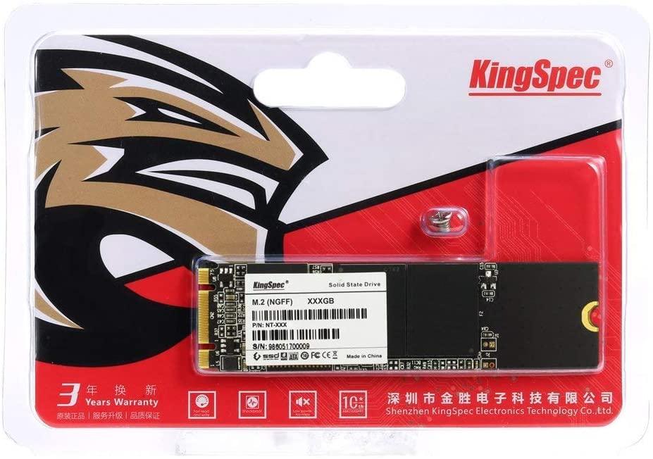 Um SSD menor, ele não perde velocidade em relação aos outros (Fonte: Divulgação/Kingspec)