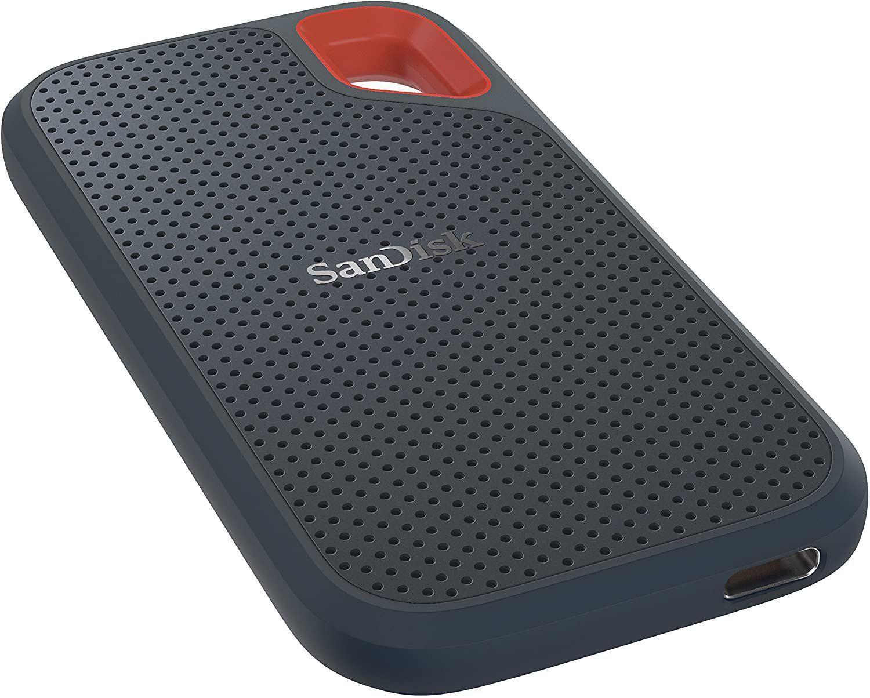 O SSD portátil é ideal para levar seus arquivos e jogos para qualquer lugar (Fonte: Divulgação/Sandisk)