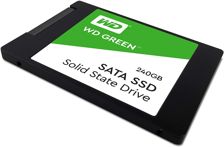 Um dos melhores SSDs de 240GB, o modelo da WD Greeen traz boa velocidade de leitura e gravação (Fonte: Divulgação/WD)